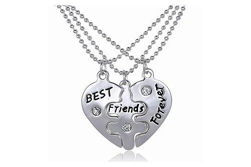 design innovativo 79dd8 fd0d6 Collana & ciondoli - 3 migliore amica Amicizia - Best ...