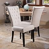 Paulina Light Beige Dining Chairs (Set of 2)