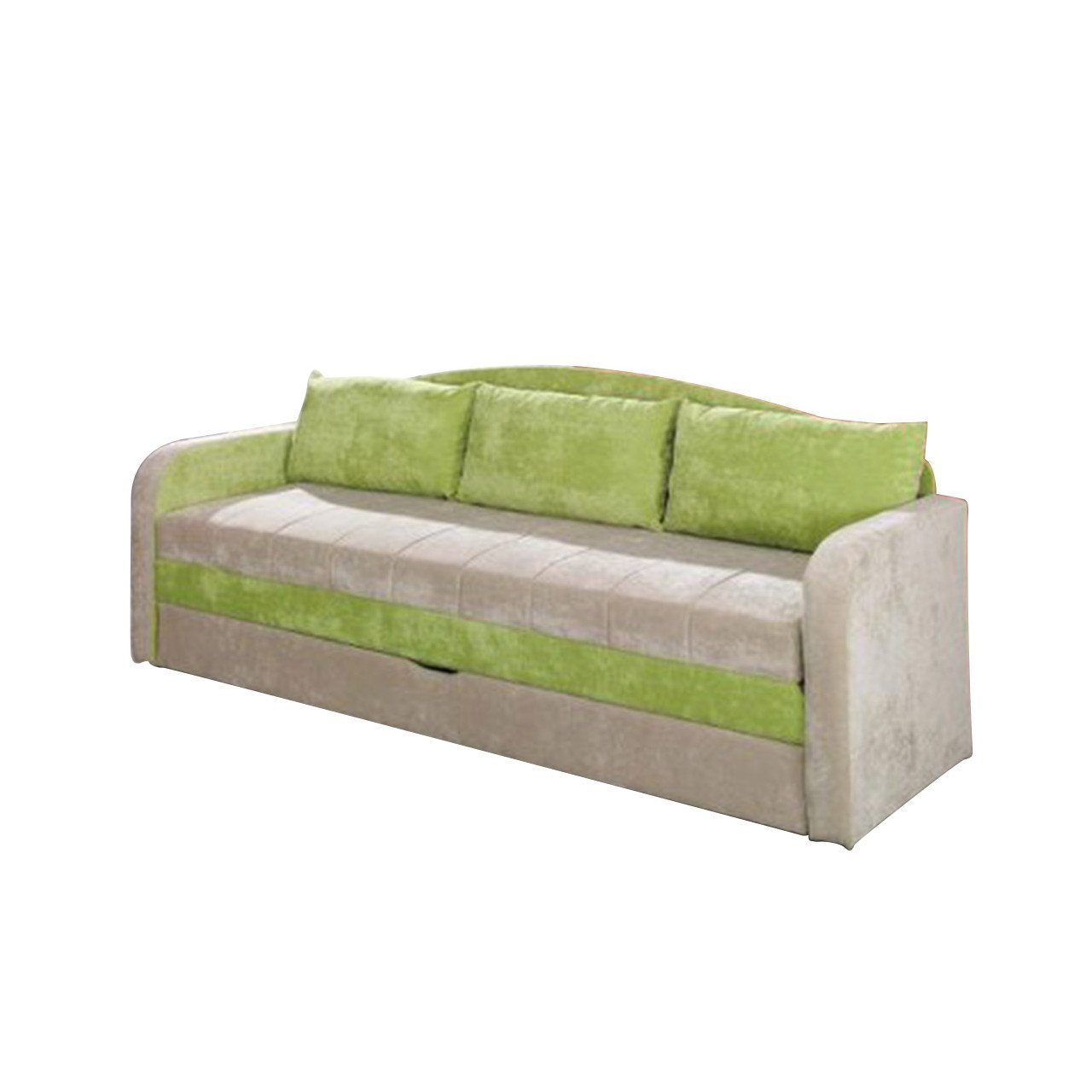 Mirjan24 Schlafsofa Tenus, Sofa Couch mit Bettkasten und Schlafcouch ...