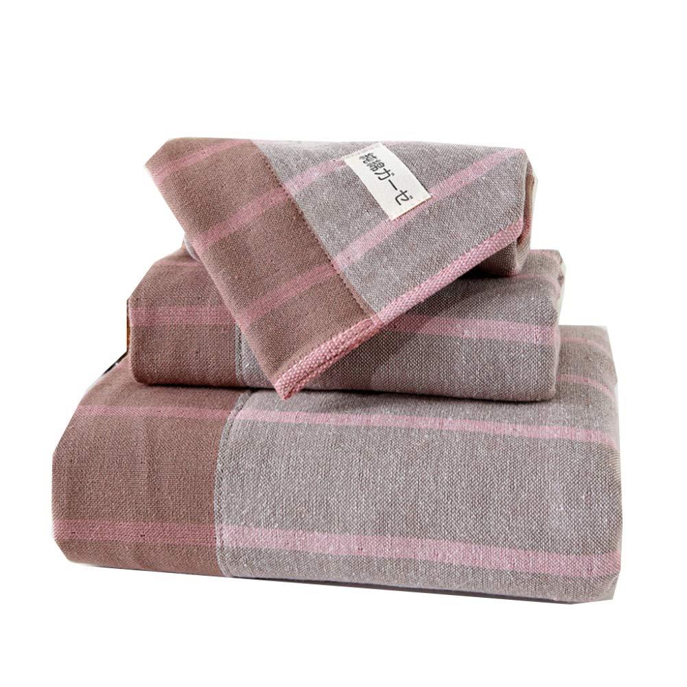 ZYJY Juego de Toallas de baño, artículos para el hogar de algodón, 1 Toalla, 1 Toalla de baño, 1 Toalla Cuadrada,B: Amazon.es: Hogar