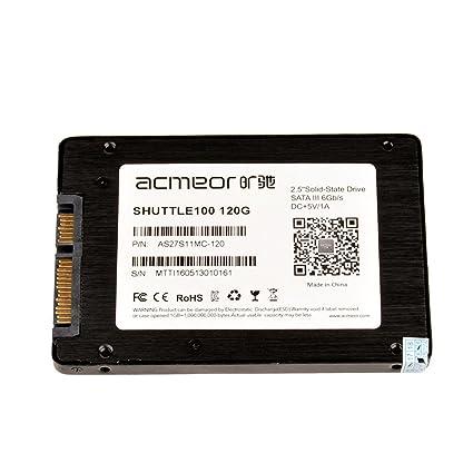acmeor 120 GB disco flash SSD interno 2,5, SATA & # x2162; 6 GB/s ...