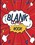 Blank Comic Book: Great Sketchbook for Kids and