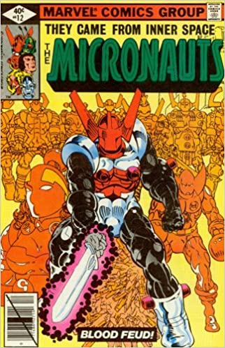 Michael Golden Micronauts # 2 USA, 1979