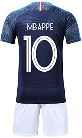 Feeling Maillots de Football Enfants du Monde France 2 Étoiles Football  T-Shirt de France f76ff1c6181a9