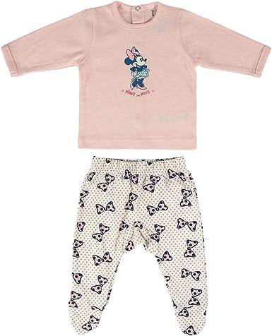 Cerdá Conjunto Ropa Disney Bebe de Minnie Mouse Juego de Pijama para Bebés