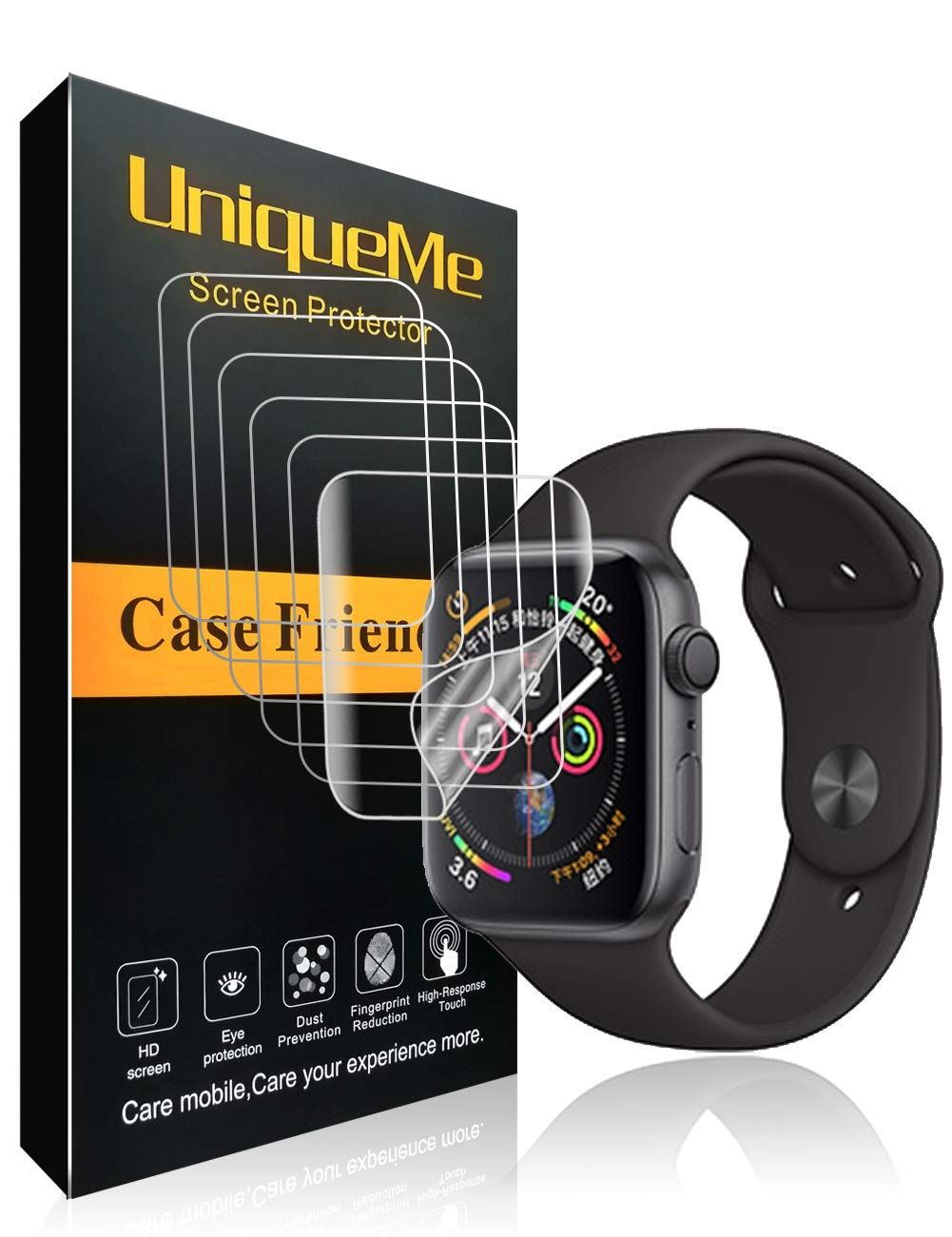 Film Protector Para Apple Watch 44mm X6 Ingle -7jz58925