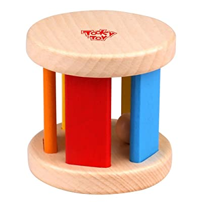 Tooky Toy Wooden Roller: Toys & Games