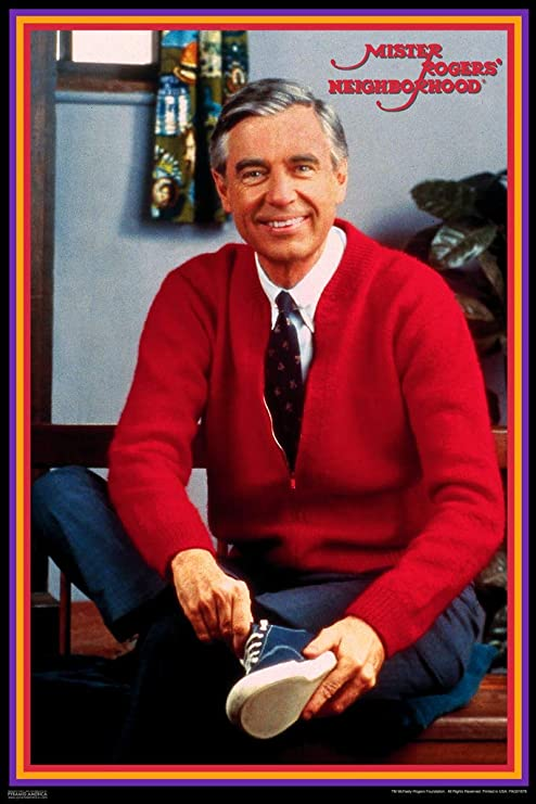 Amazon Com Pyramid America Mister Rogers Neighborhood Tying Shoes Cool Wall Decor Art Print Poster 12x18 Posters Prints