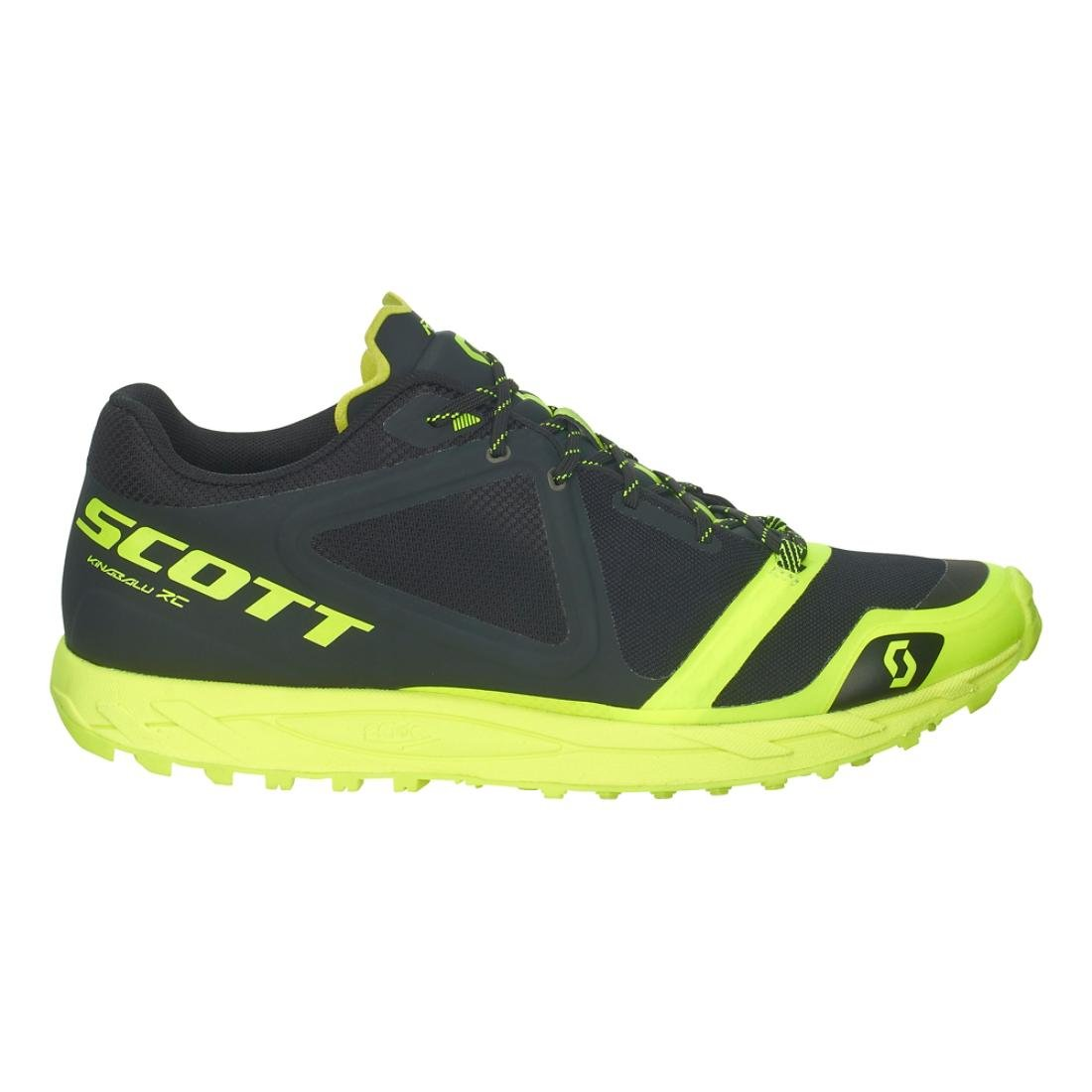 SCOTT Kinabalu RC Trail Running Shoe - Men's sct0034-Black/Yellow-Medium-12 B071NFPH18