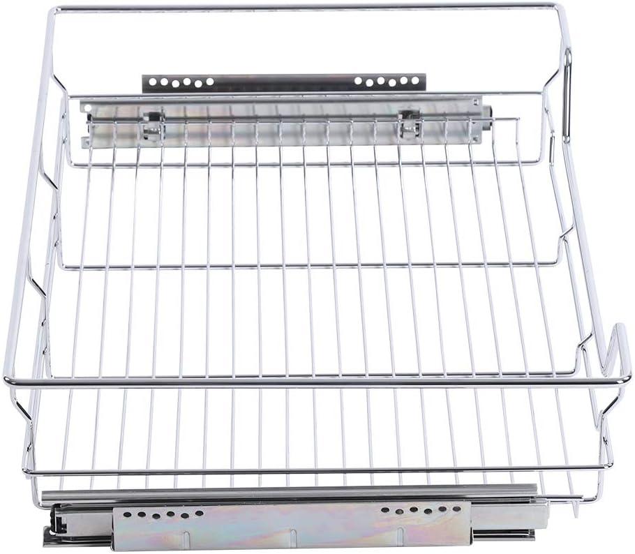 Cesta de almacenamiento de alambre extra/íble cestas de alambre extra/íbles para cocina organizador de almacenamiento 800 mm