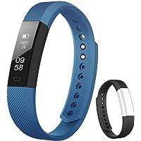 Rayfit Pulsera Actividad Inteligente Reloj Deportivo Fitness Tracker Monitor de Sueño Contador de Calorías Reloj Cuenta…