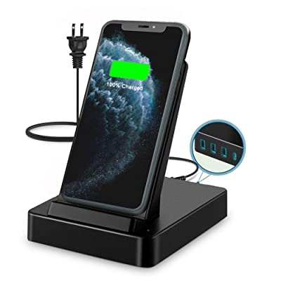 Wireless Charger Stand,50W 5 in 1