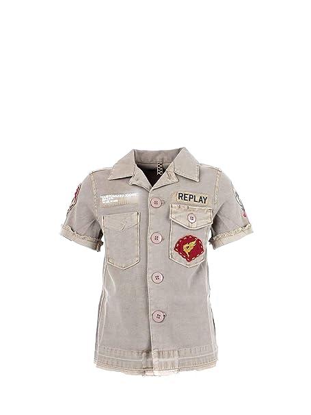 size 40 2fac0 2aef3 REPLAY SB1601 050 Camicia Bambino: Amazon.it: Abbigliamento