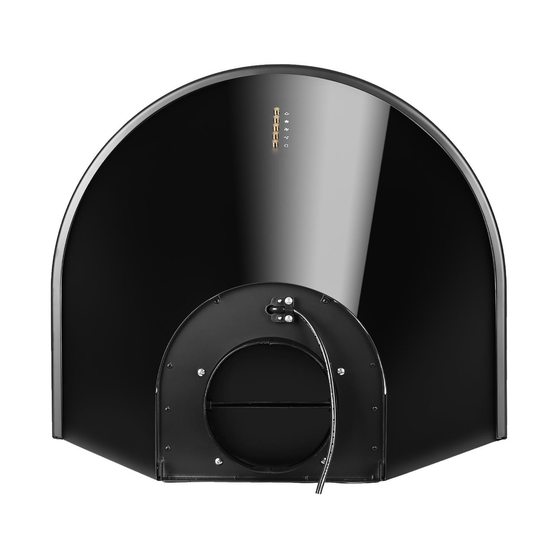 Klarstein Lumio Primo • Campana extractora pared • Diseño Retro • Ventilación Aspiración • 3 Niveles • Filtro de aluminio • Capacidad 430 m³ aire/h • Acero ...