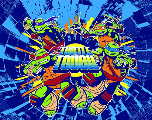 Teenage Mutant Ninja Turtles Tough' Canvas Wall Art With Led Lights For Kids Rood