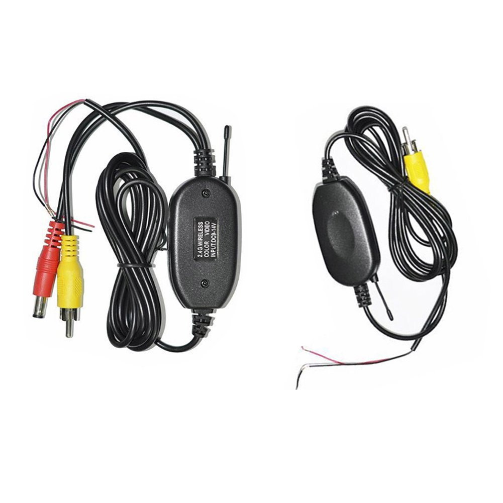 Amazon.com: ZettaGuard 2.4g Wireless Color Video Transmitter and ...