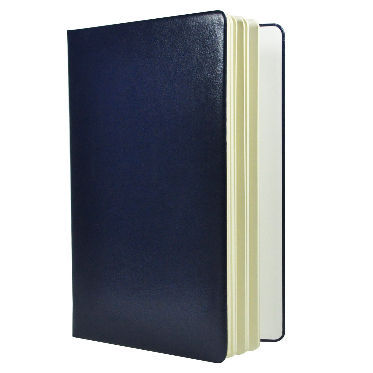 Littfun Leather Notebook A5 Journal 11 Color Optional (Mazarine)