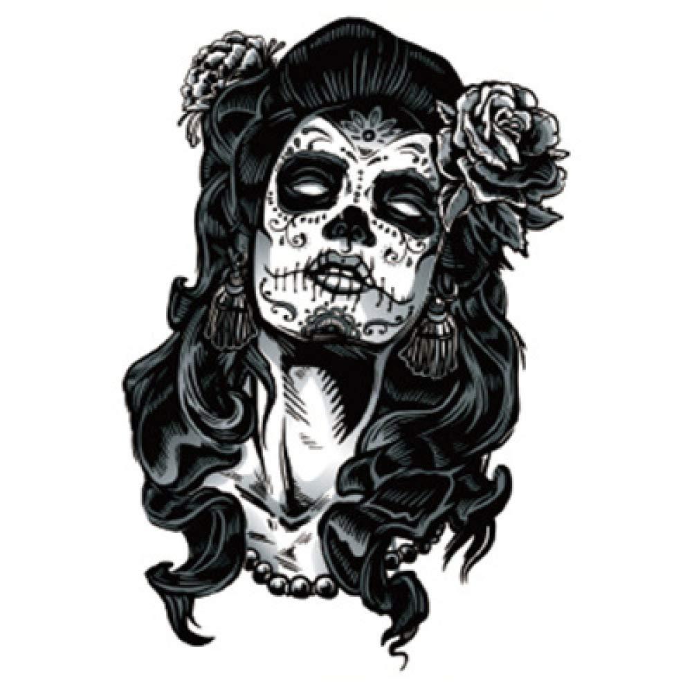 Moda tótem flor brazo tatuaje pegatinas pegatinas de tatuaje a ...