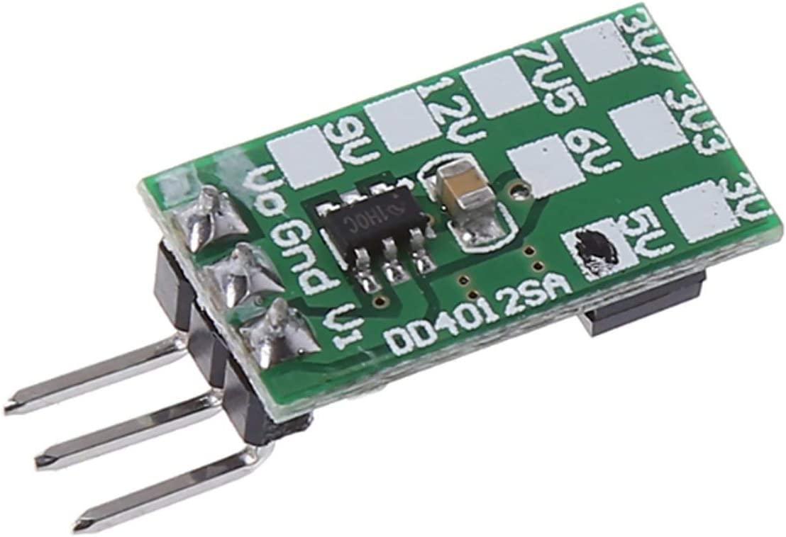 Jasnyfall Multicolor DD4012SA 1A 6.5-40V to 3.3V 5V DC DC Converter Buck Module for TO-220 L7805 LM7805 LDO IC Negative Voltage Module Welding