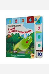 Ghostbusters: 1 to 10 Slimer's Loose Again (PlayPop) Board book