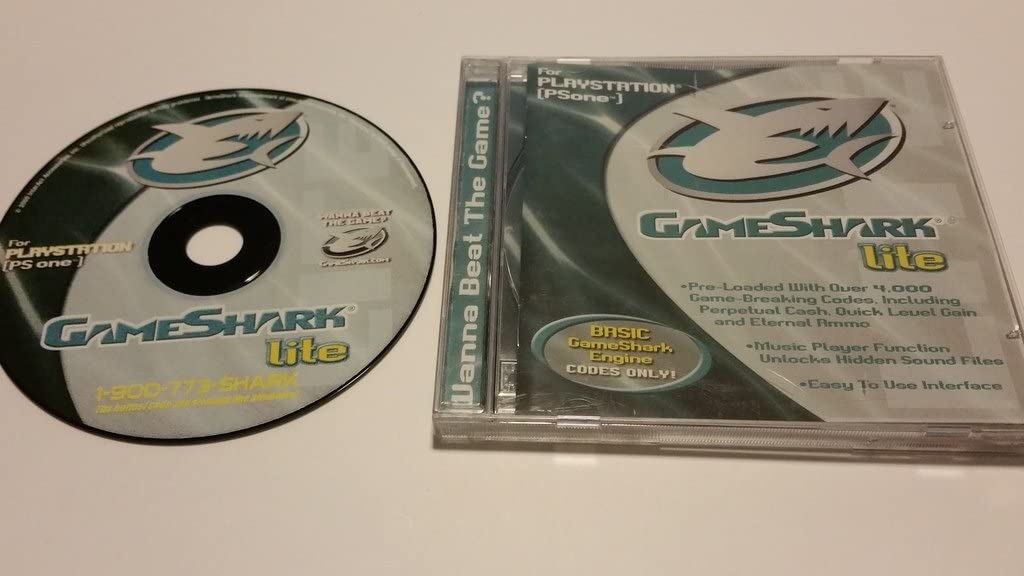 Amazon com: GameShark lite for Sony PLAYSTATION [PS one