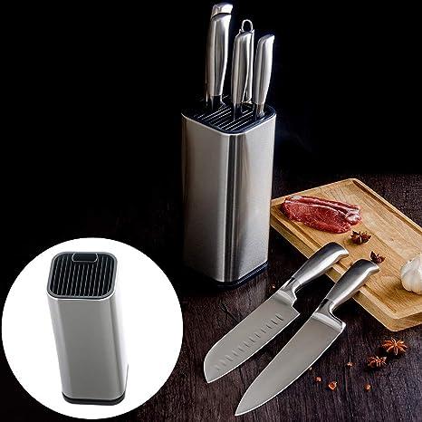 ExhilaraZ - Soporte para cuchillos de cocina (acero ...