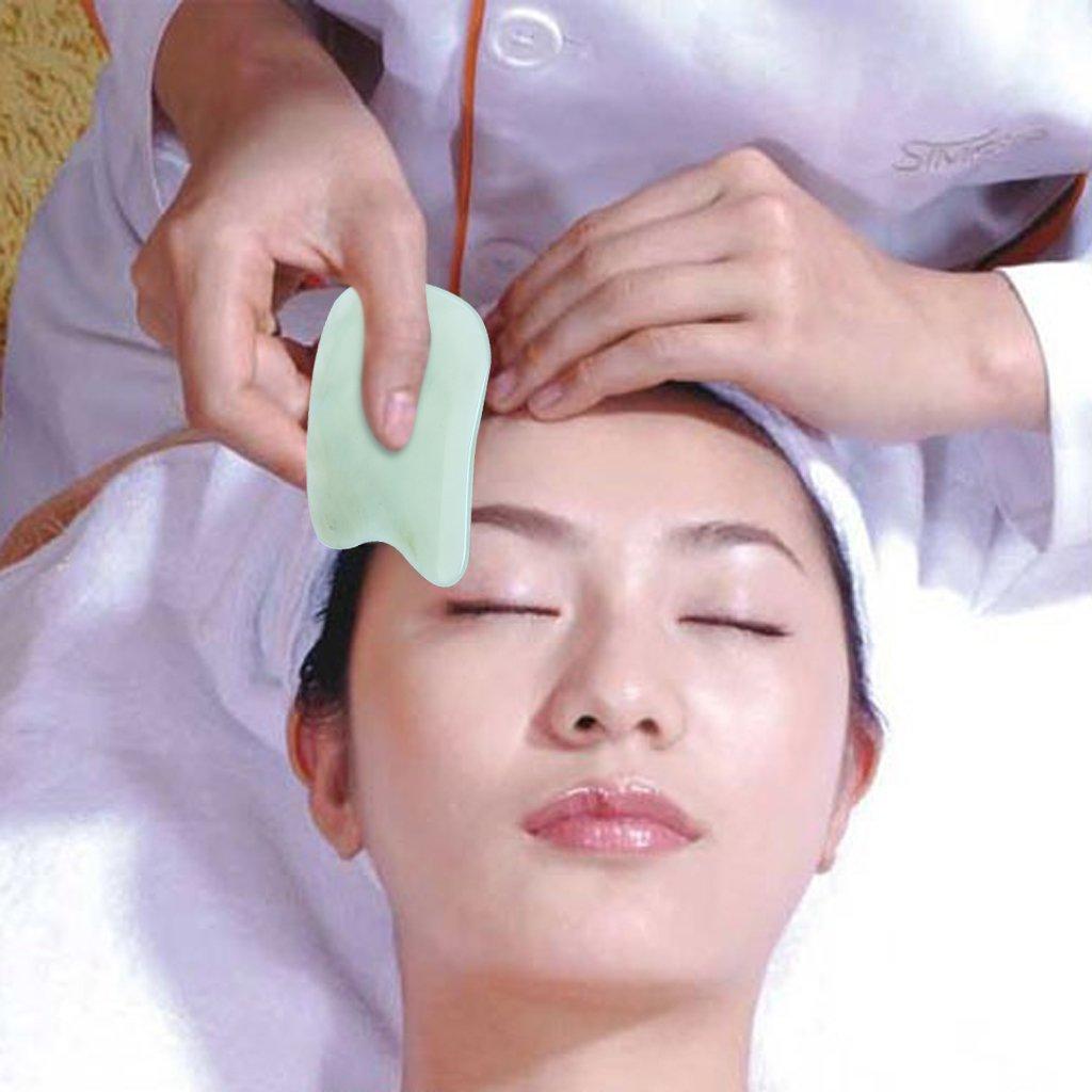 ewinever(R) Natürliche Gua Sha Schaben Massage Werkzeuge Handgefertigte Guasha Board Für SPA Akupunktur Therapeutische Relief MRLAK12A