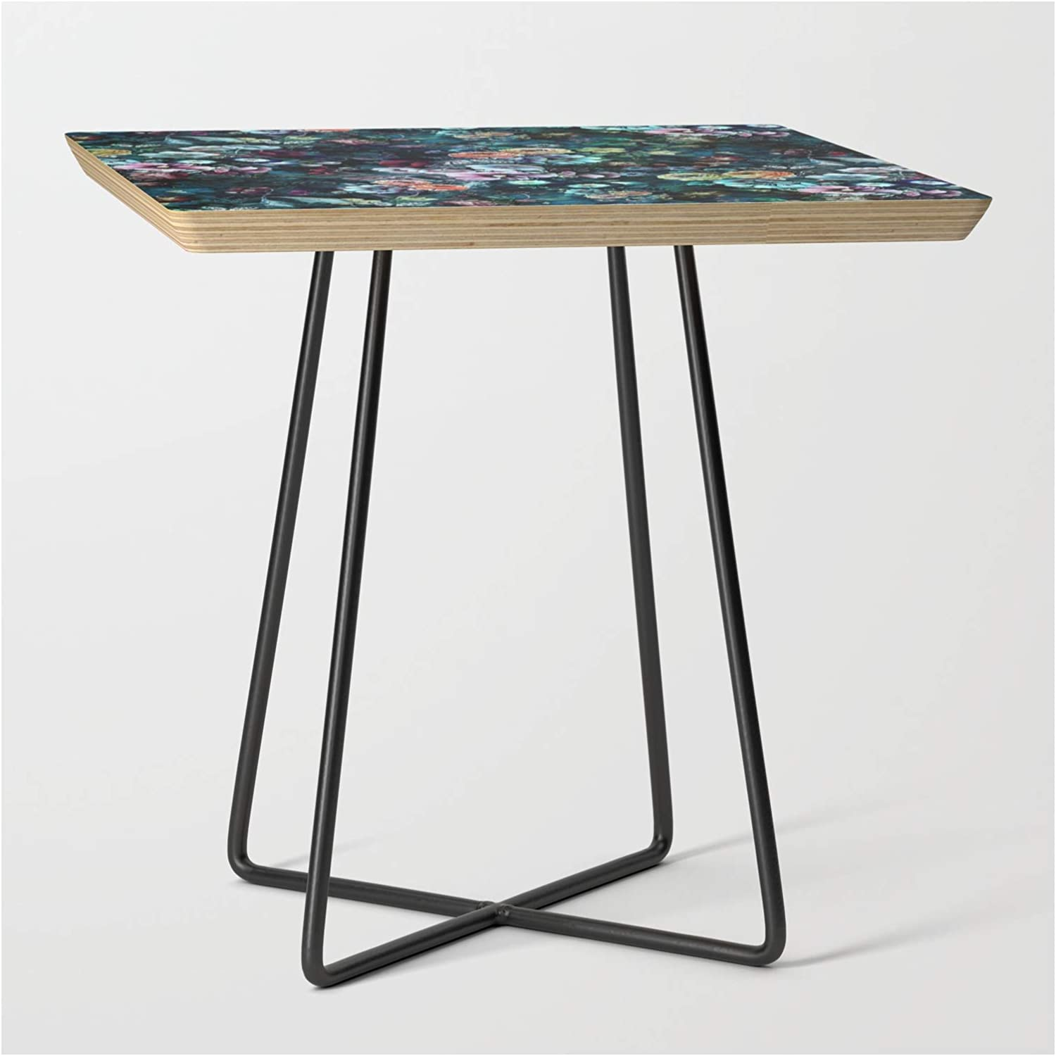 Amazon.com: Night Garden by Riza Peker on Side Table - Black