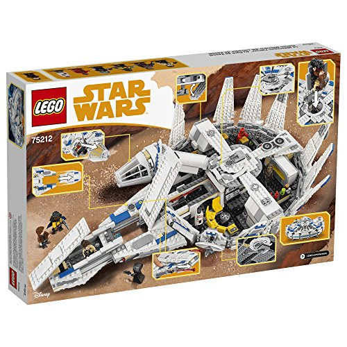 LEGO-Star-Wars-Kessel-Run-Millennium-Falcon-75212-Building-Kit-1414-pieces
