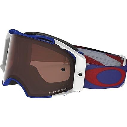 fd0e345103 Amazon.com  Oakley Airbrake MX Heritage Racer Adult Off-Road Motorcycle  Goggles Eyewear - RWB Prizm MX Bronze One Size Fits All  Automotive