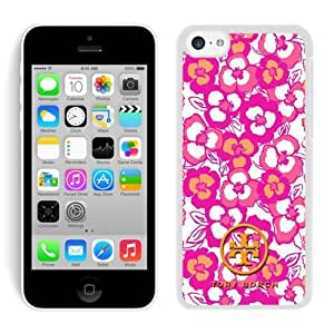 Fahionable Custom Designed iPhone 5C Cover Case With Tory Burch 13 White Phone Case