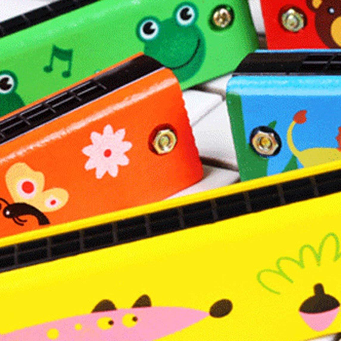 Footprintse Giocattolo per Bambini in Legno a 16 File in Legno a Doppia Fila