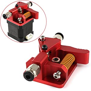 FYSETC 3D Printer Upgrade Extruder Dual Driver Long-Distance Remote Metal Extruder Right Hand Block Kit Spare Parts 1.75mm Filament for Creality CR-10S Pro Anet A8 Anycubic Mega Wanhao i3
