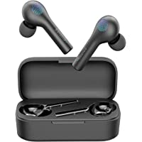 Dudios True Wireless Earbuds, in-Ear Bluetooth 5.0 Headphones, Deep Bass Earphones for iPhone and Android (Low Latency…