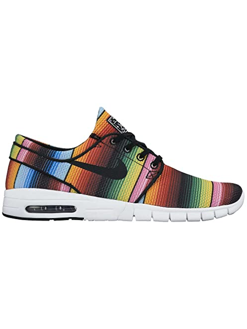 Nike Stefan Janoski Max Mens Sneakers (Tide Pool Blue/Tour Yellow/Black)