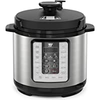 TaoTronics Pressure Cooker, 10-in-1 Multi-Functional, No Chemical Coatings