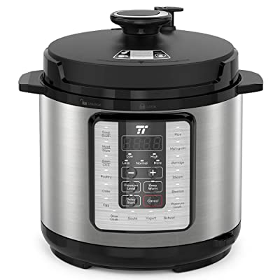 TaoTronics TT-EE006 Electric Pressure Cooker 6Q...