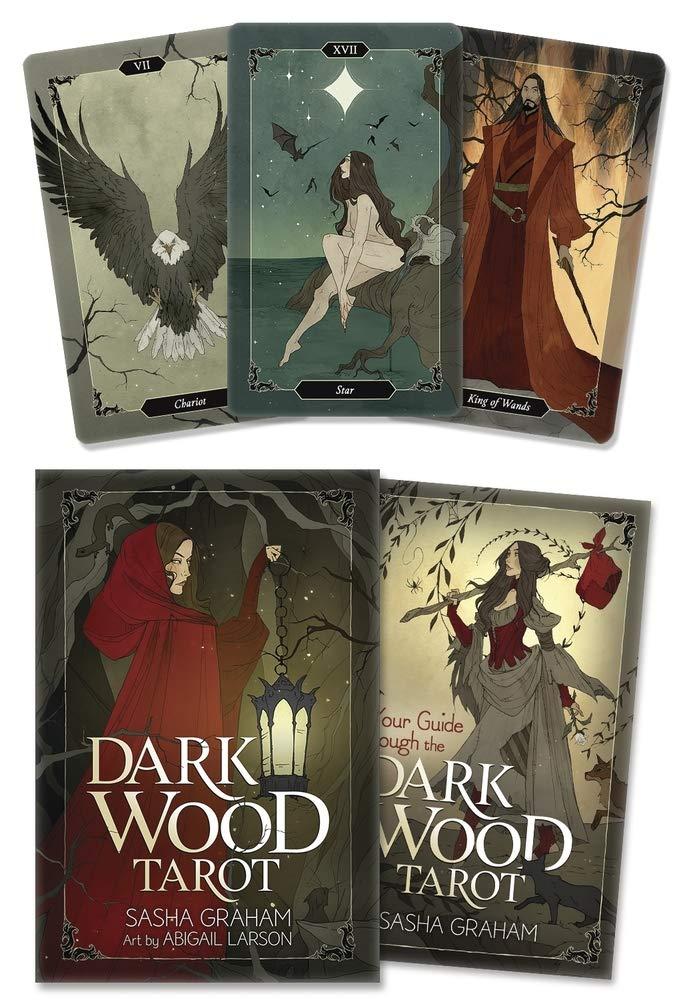 Dark Wood Tarot: Graham, Sasha, Larson, Abigail: 9780738759302: Amazon.com:  Books