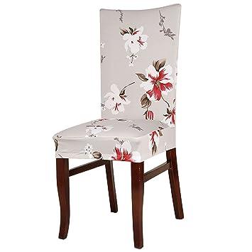 Sourcingmap® Waschbarer Stuhl Decken Stretch Slipcovers Kurze Esszimmer  Hocker Sitz Cover
