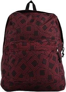 Swiftswan Sac à Dos pour Ados, Mode Motif géométrique Sac à Dos pour Ordinateur Portable College Bags Sac à bandoulière pour Femmes Daypack Bookbags Sac de Voyage