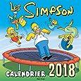 Calendrier mural Les Simpson 2018