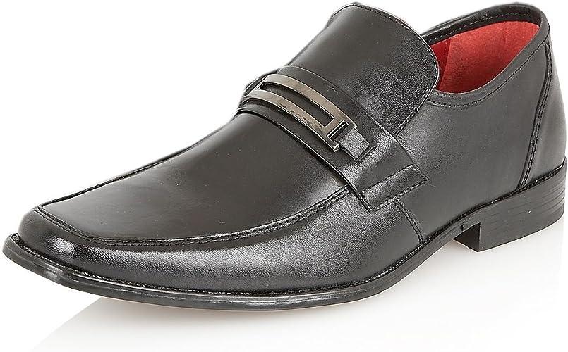 Italian Leather Mens Formal Shoes Slip
