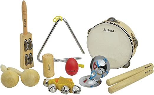 Chord cps09 mano Kit de percusión (Pack de 9): Amazon.es ...