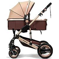 YBL confortable ombrelle poussette canne bébé confort Quatre Roue poupée pour enfants inclinable pliage Haut champ de vision landau
