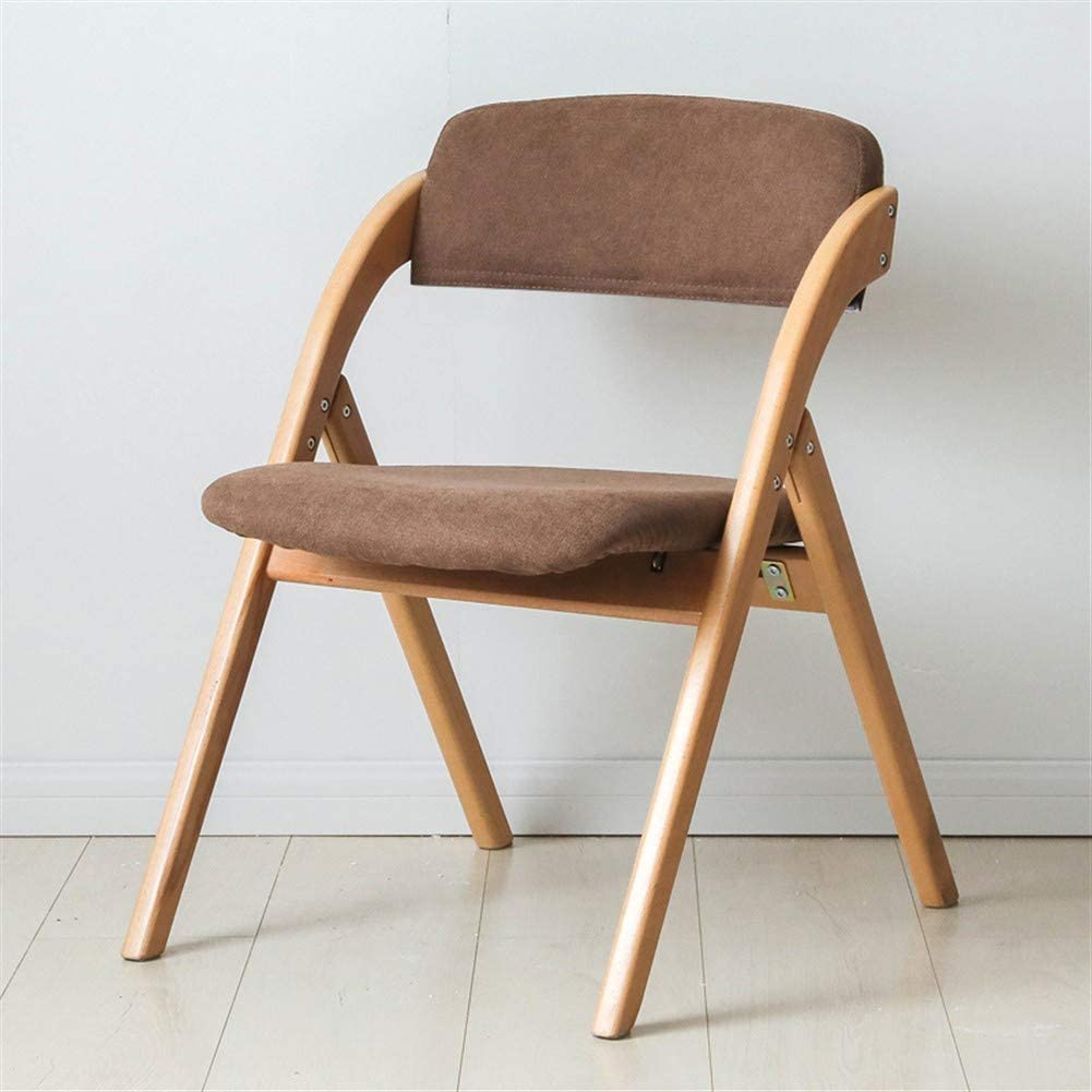 Amazon.com: QQXX Solid Wood Foldable Chairs, Wooden Frame ,Home