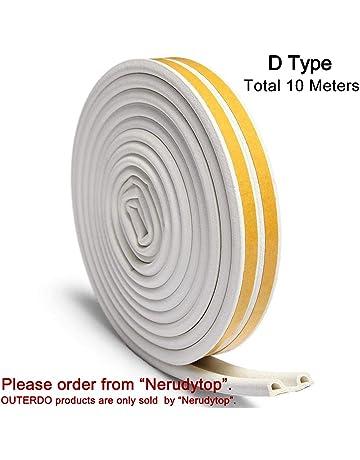 ee8b5015dc9 OUTERDO Rubber Seal Foam Tape Foam Seal Strip