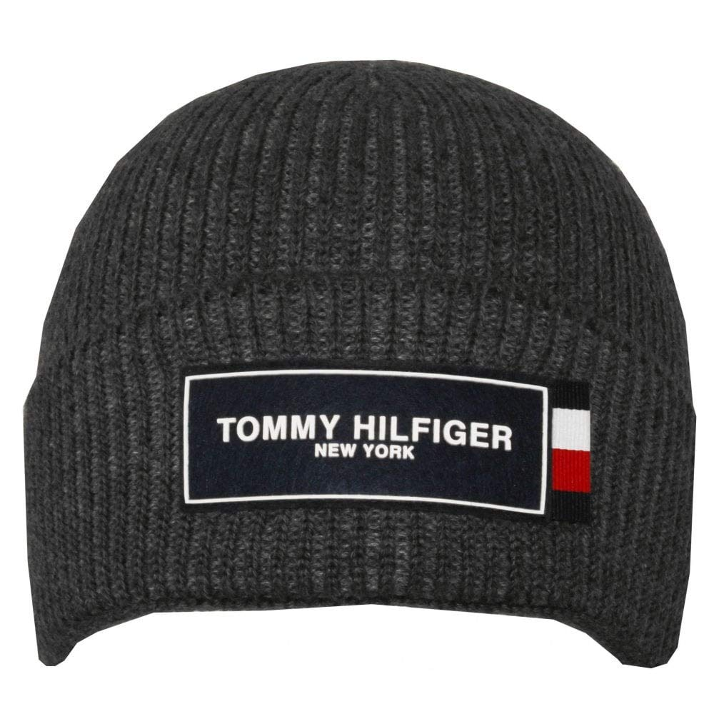 Tommy Hilfiger Unisex Adult Tommy Patch Beanie Hat 9db78899009