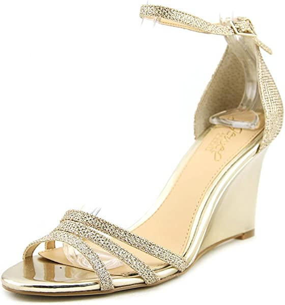 Amazon.com  Badgley Mischka Jewel Women s Antonette Gold 6 M US M  Shoes 778f7e4bb2
