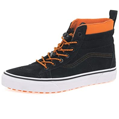 0f0b9c4d74db Vans SK8 Hi Kids Youth MTE Suede All Weather Trainer Boots Junior 2.5 34  Black