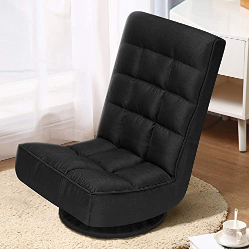 AVAWING Folding Floor Gaming Chair